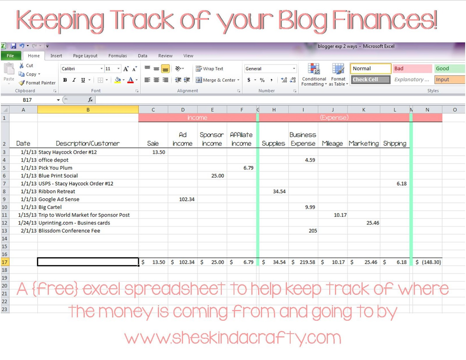 Free Excel Spreadsheet For Tracking Income And Expenses With Excel Spreadsheet For Tracking Income And Expenses Download For Free