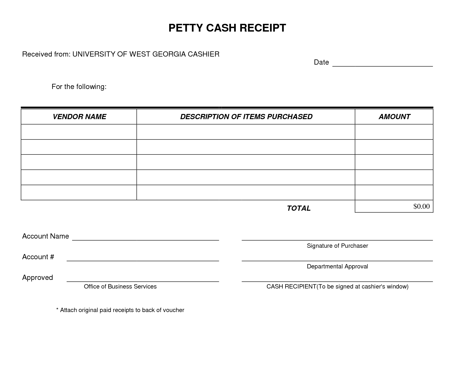 Free Petty Cash Voucher Template Excel With Petty Cash Voucher Template Excel Download For Free