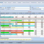 Free Production Schedule Template Excel with Production Schedule Template Excel Download