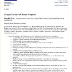 Free Residential Construction Bid Form with Residential Construction Bid Form Sheet