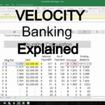 Free Velocity Banking Spreadsheet Template To Velocity Banking Spreadsheet Template Letter