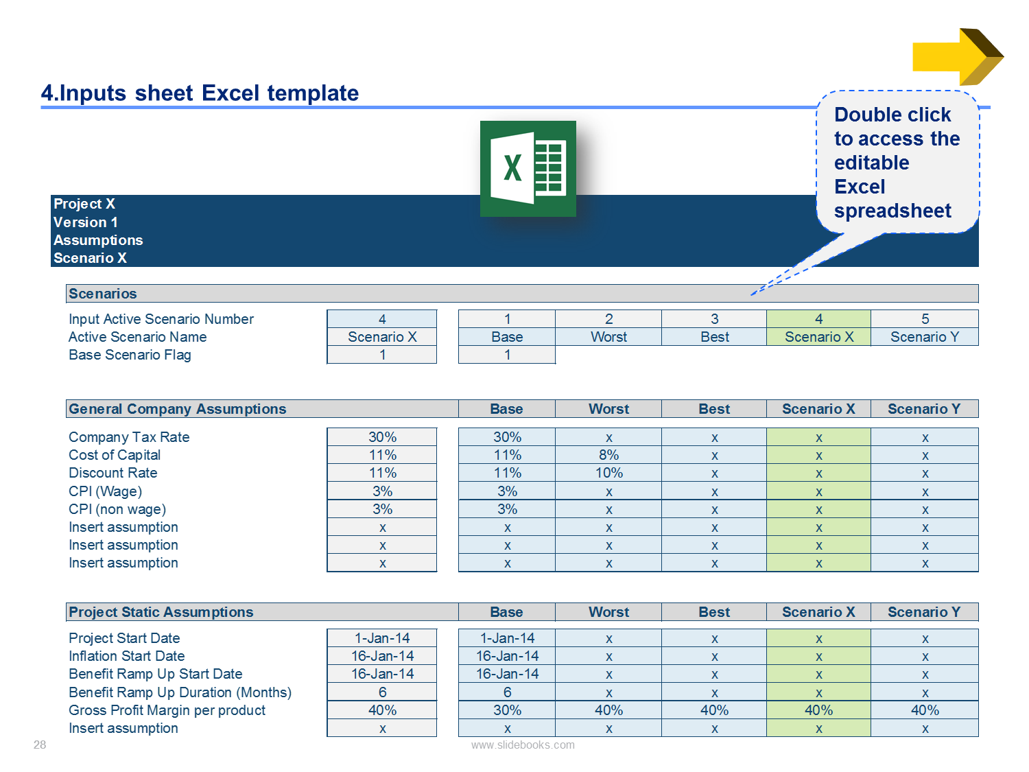 Letter Of Business Case Template Excel Within Business Case Template Excel Free Download