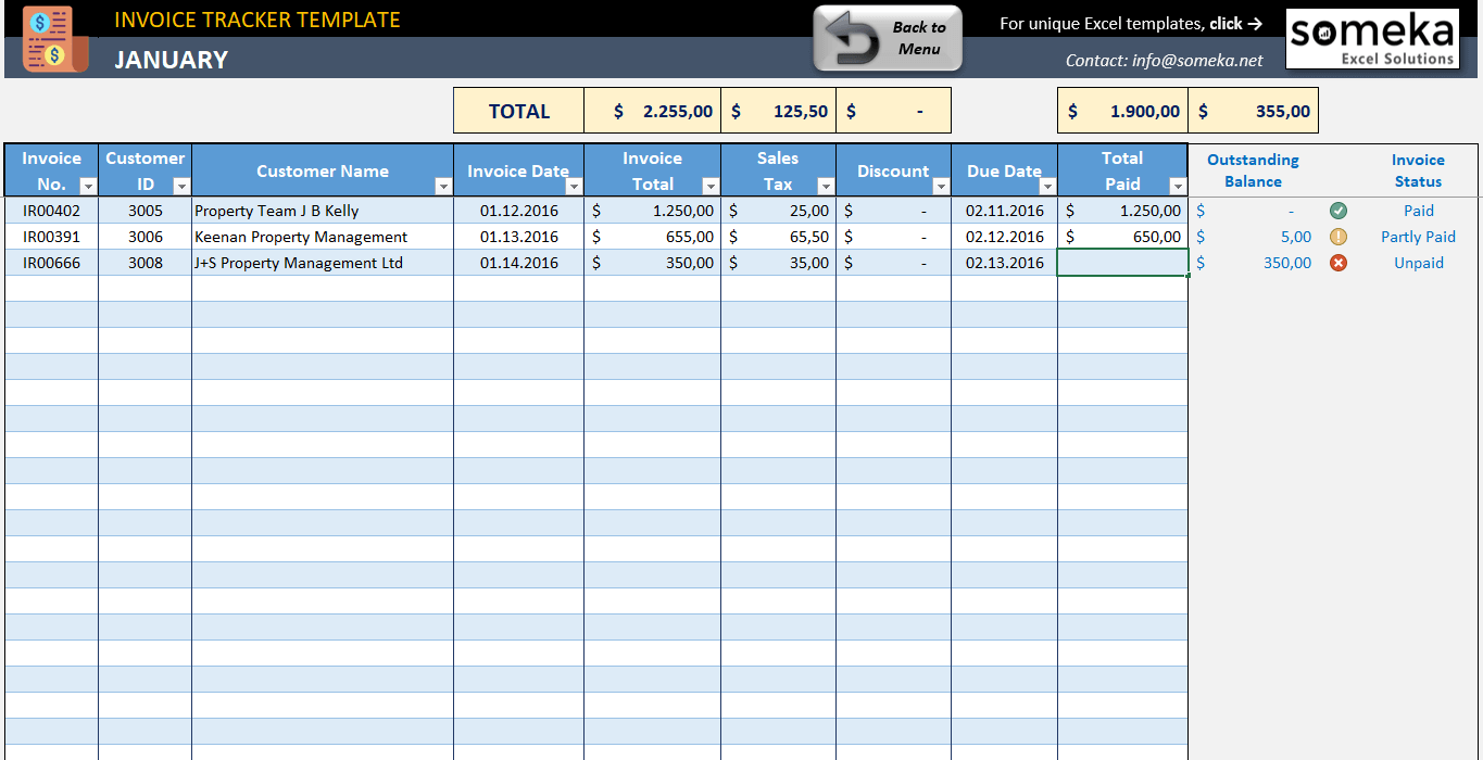 Letter Of Excel Bill Tracker Template With Excel Bill Tracker Template Download For Free