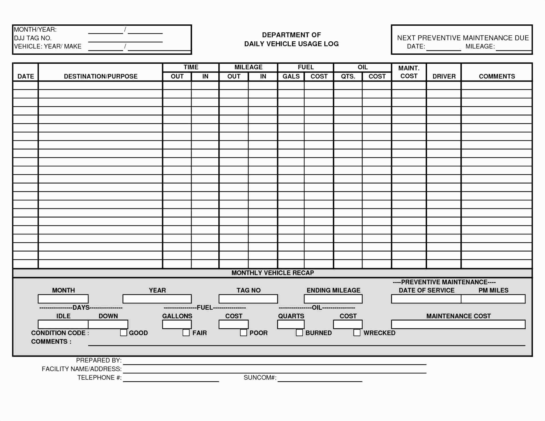 Letter Of Excel Spreadsheet For Vehicle Maintenance Within Excel Spreadsheet For Vehicle Maintenance Samples