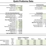 Letter Of Real Estate Pro Forma Template Excel To Real Estate Pro Forma Template Excel Free Download