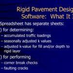 Letter Of Rigid Pavement Design Spreadsheet With Rigid Pavement Design Spreadsheet In Spreadsheet