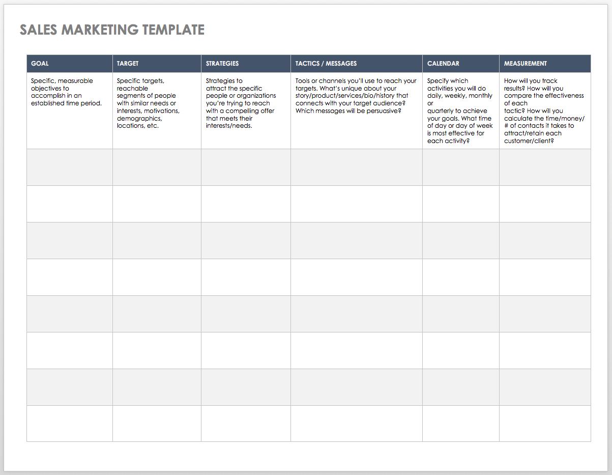 Letter Of Sales Target Template Excel In Sales Target Template Excel Xls