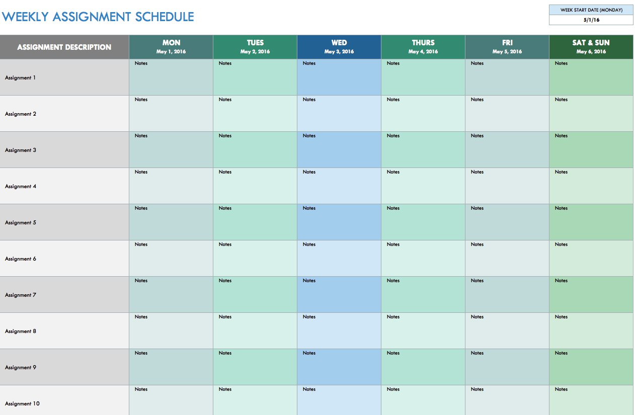 Letter Of Schedule Spreadsheet Template Excel With Schedule Spreadsheet Template Excel Printable