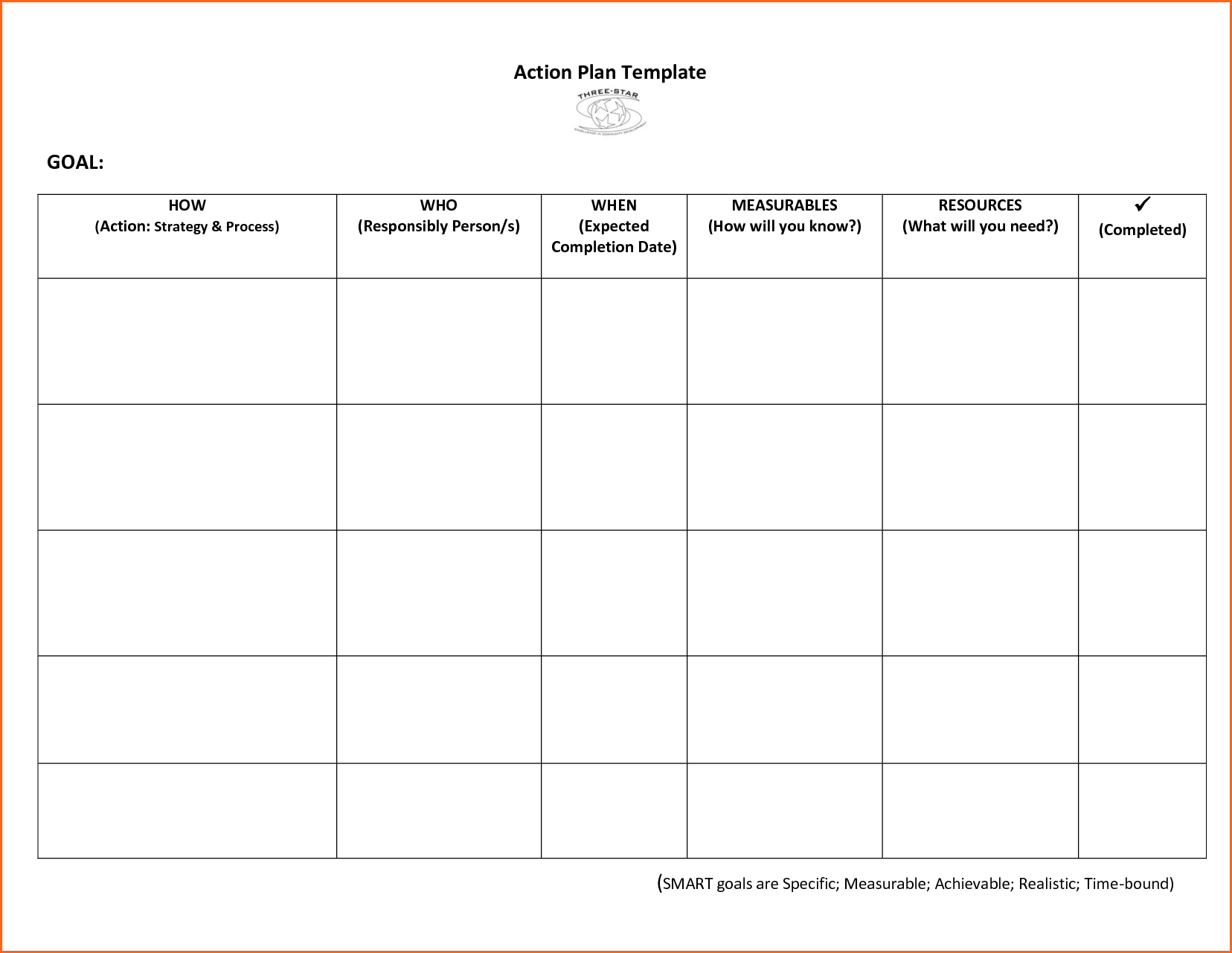 Letter Of Smart Action Plan Template Excel Within Smart Action Plan Template Excel Free Download