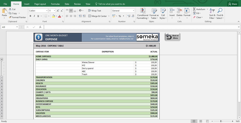 Letters of Budget Worksheet Excel intended for Budget Worksheet Excel Download