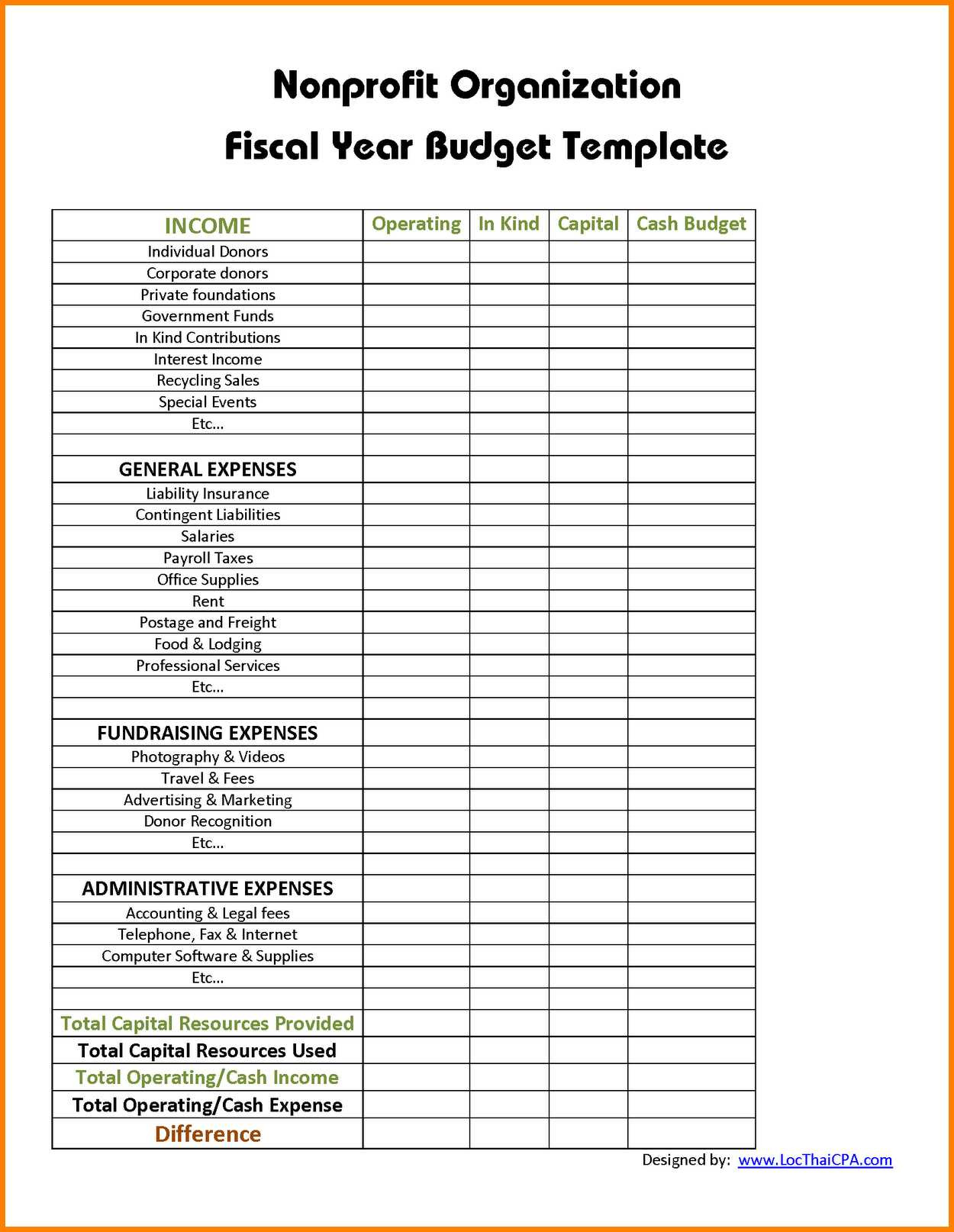 Letters Of Excel Templates For Nonprofit Organizations To Excel Templates For Nonprofit Organizations Download For Free