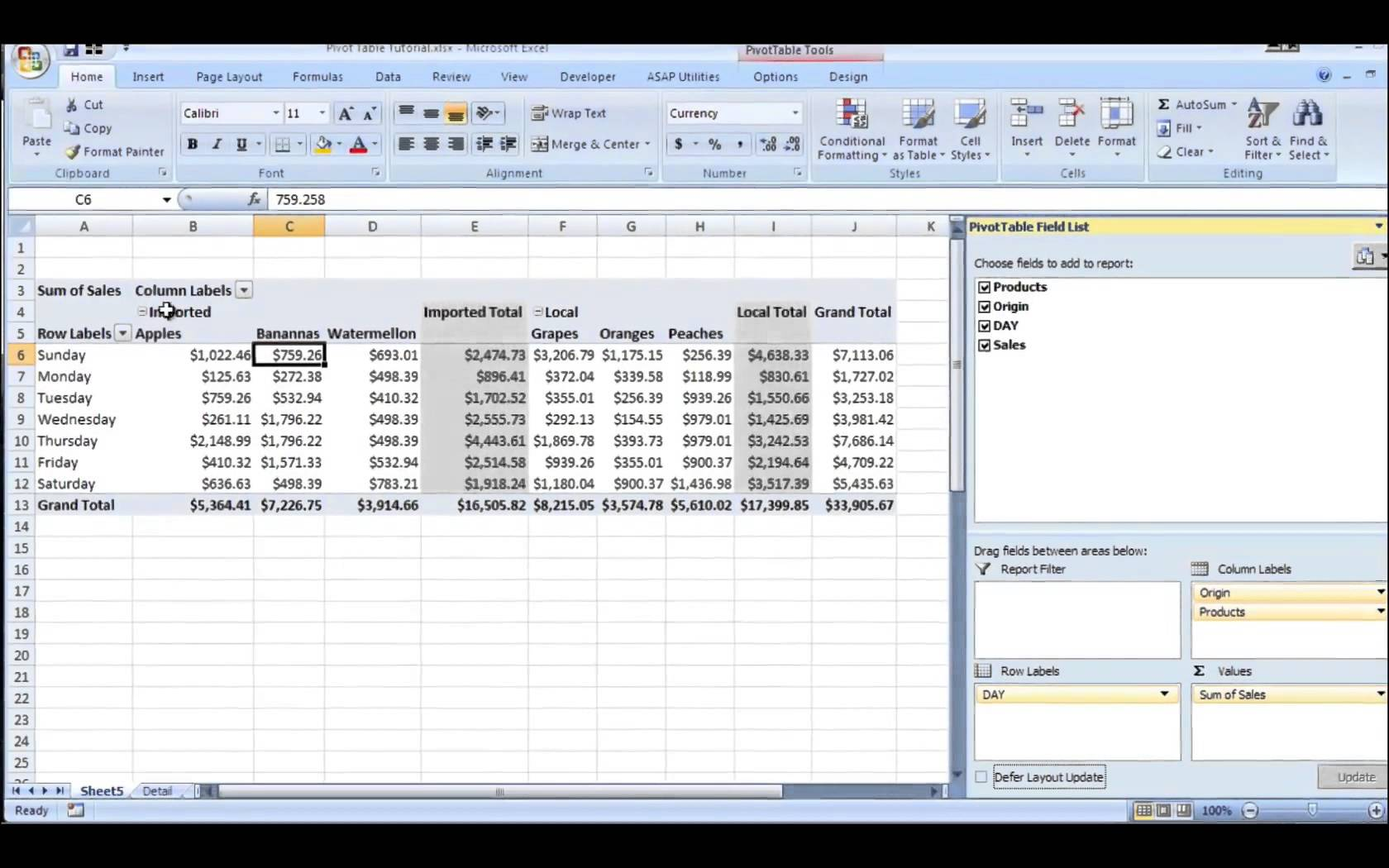 Letters Of Pivot Table Excel Sample Throughout Pivot Table Excel Sample Xlsx
