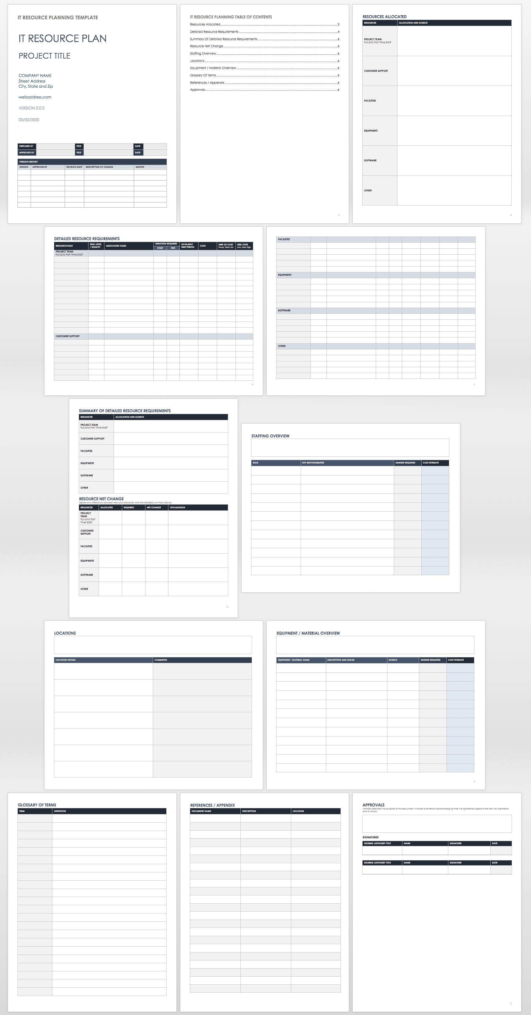 Letters Of Staff Capacity Planning Template Excel With Staff Capacity Planning Template Excel Samples