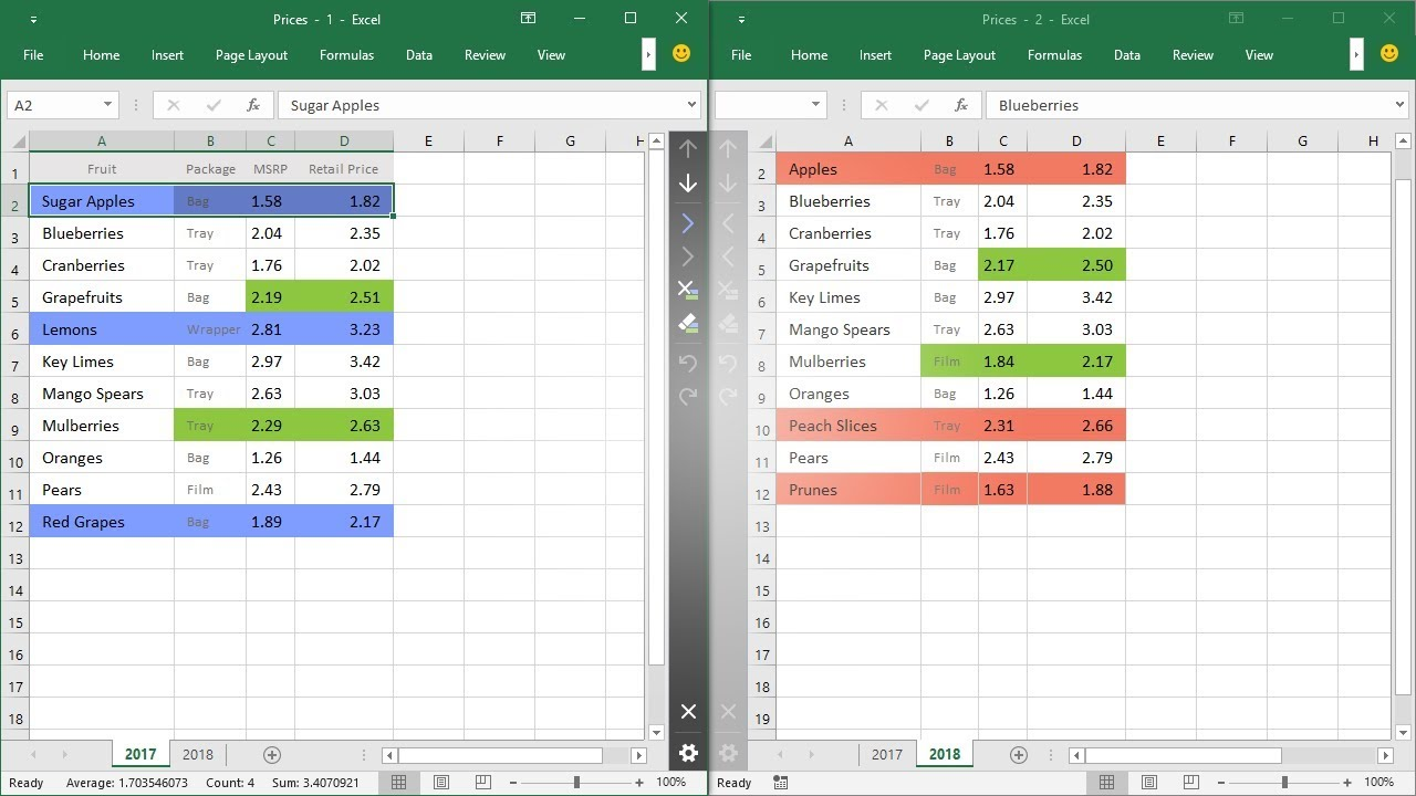 Personal Compare Two Excel Spreadsheets To Compare Two Excel Spreadsheets In Workshhet