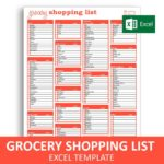 Personal Excel List Template to Excel List Template Download