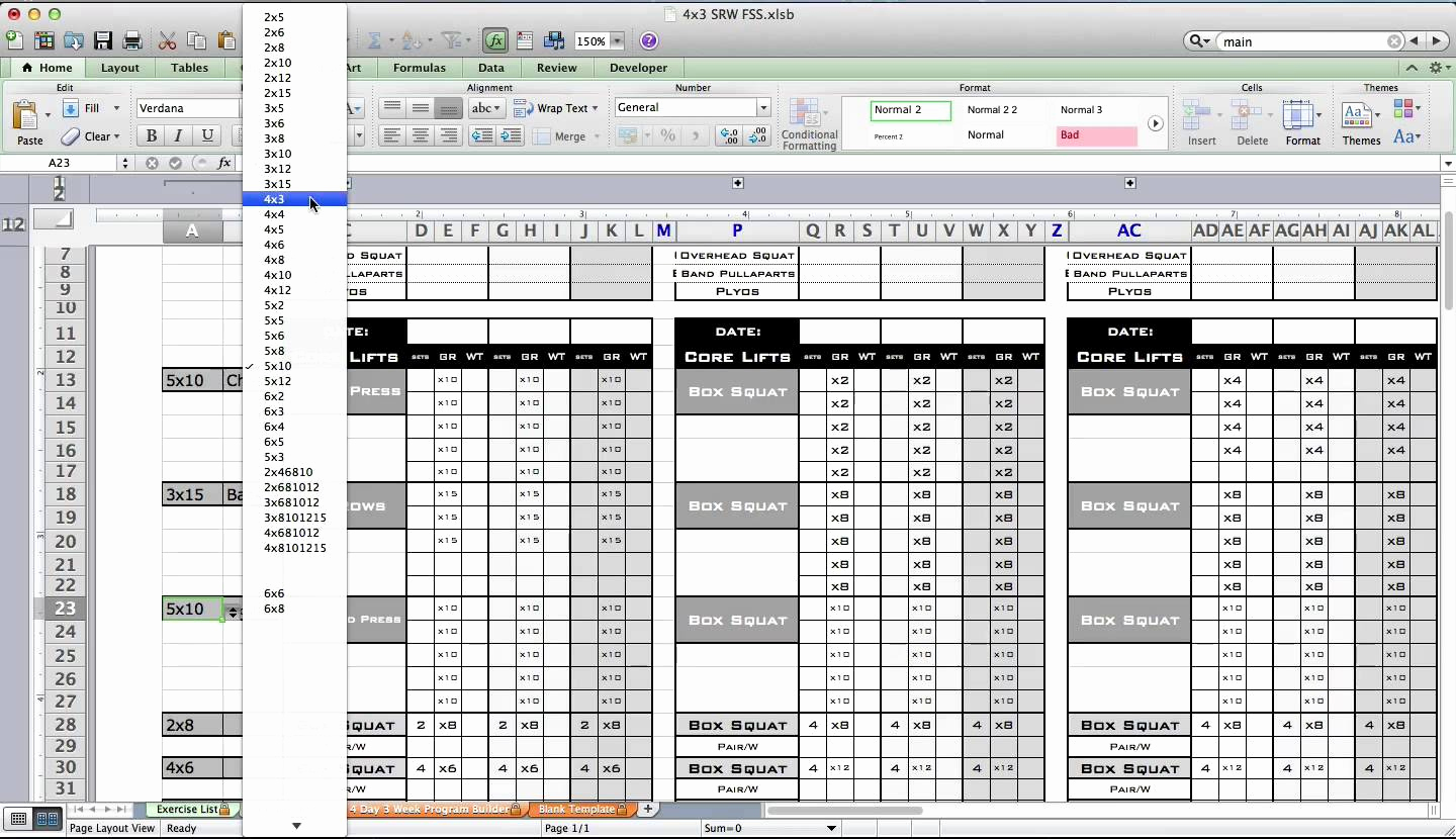 Personal Excel Spreadsheet Training Inside Excel Spreadsheet Training Sample