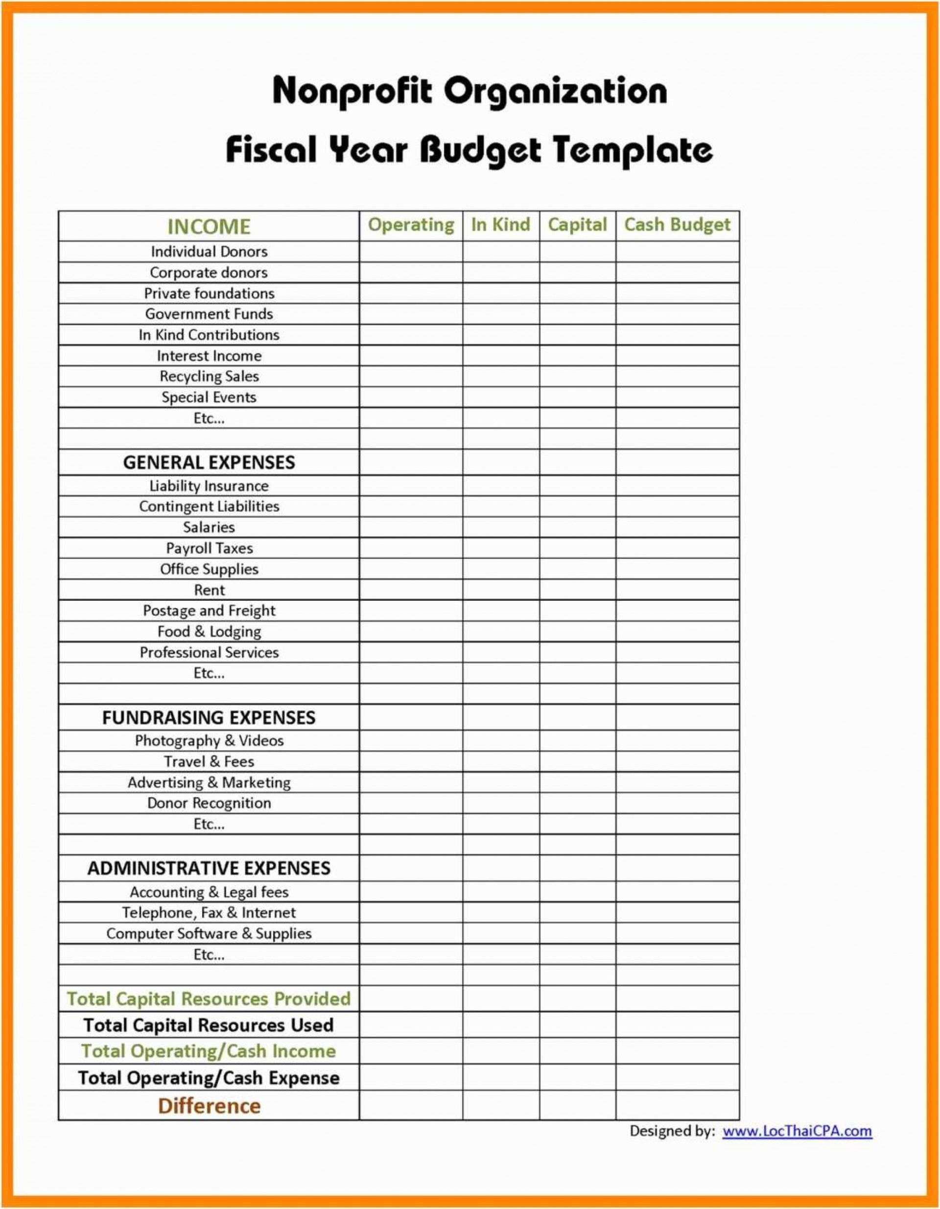 Personal Excel Templates For Non Profit Accounting Throughout Excel Templates For Non Profit Accounting Templates