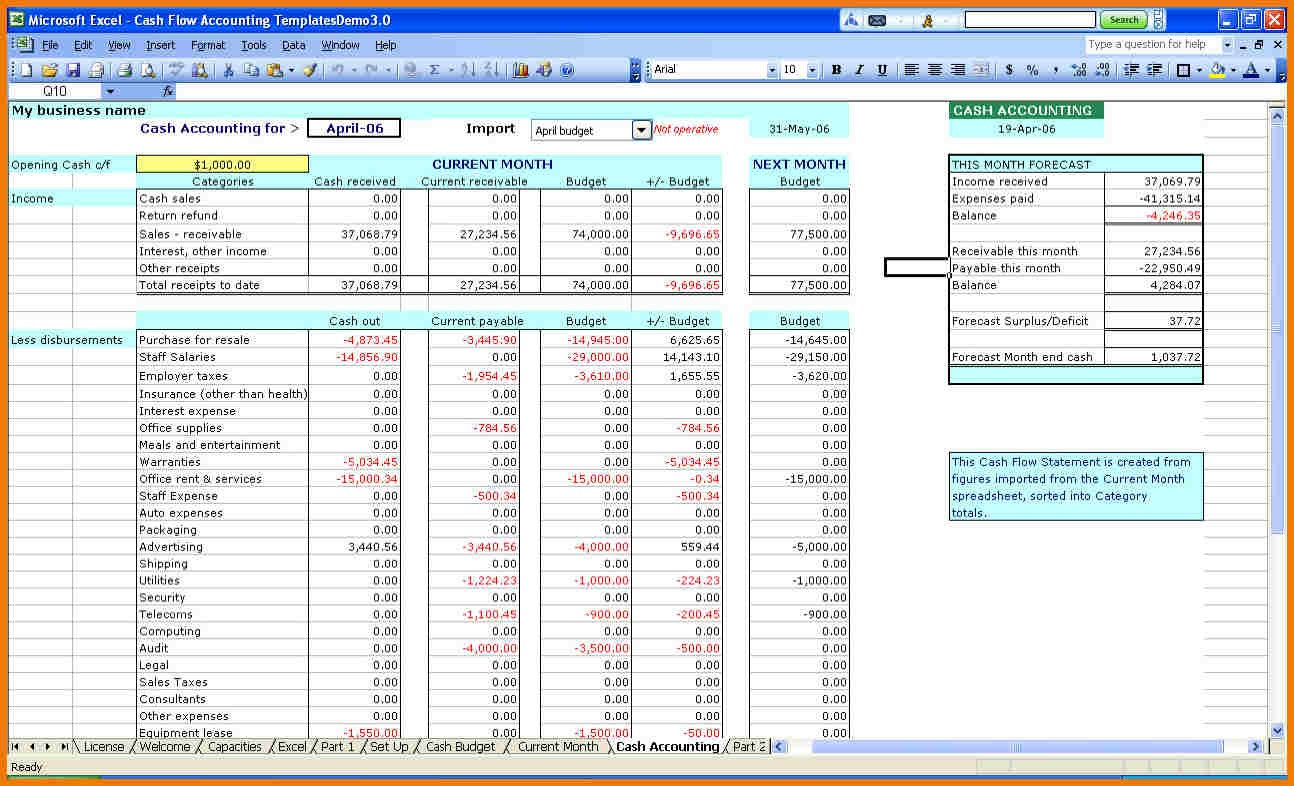 Personal Excel Templates For Small Business Throughout Excel Templates For Small Business Format