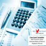 Personal Irr Calculator Excel Template to Irr Calculator Excel Template Template