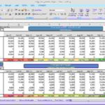Personal Monthly Expenses Excel Template inside Monthly Expenses Excel Template Document