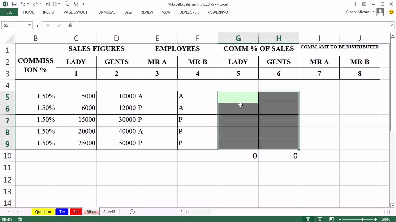 Personal Sliding Scale Commission Excel Template Within Sliding Scale Commission Excel Template Templates