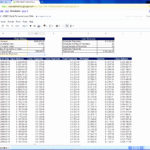 Printable Excel Amortization Template with Excel Amortization Template Form