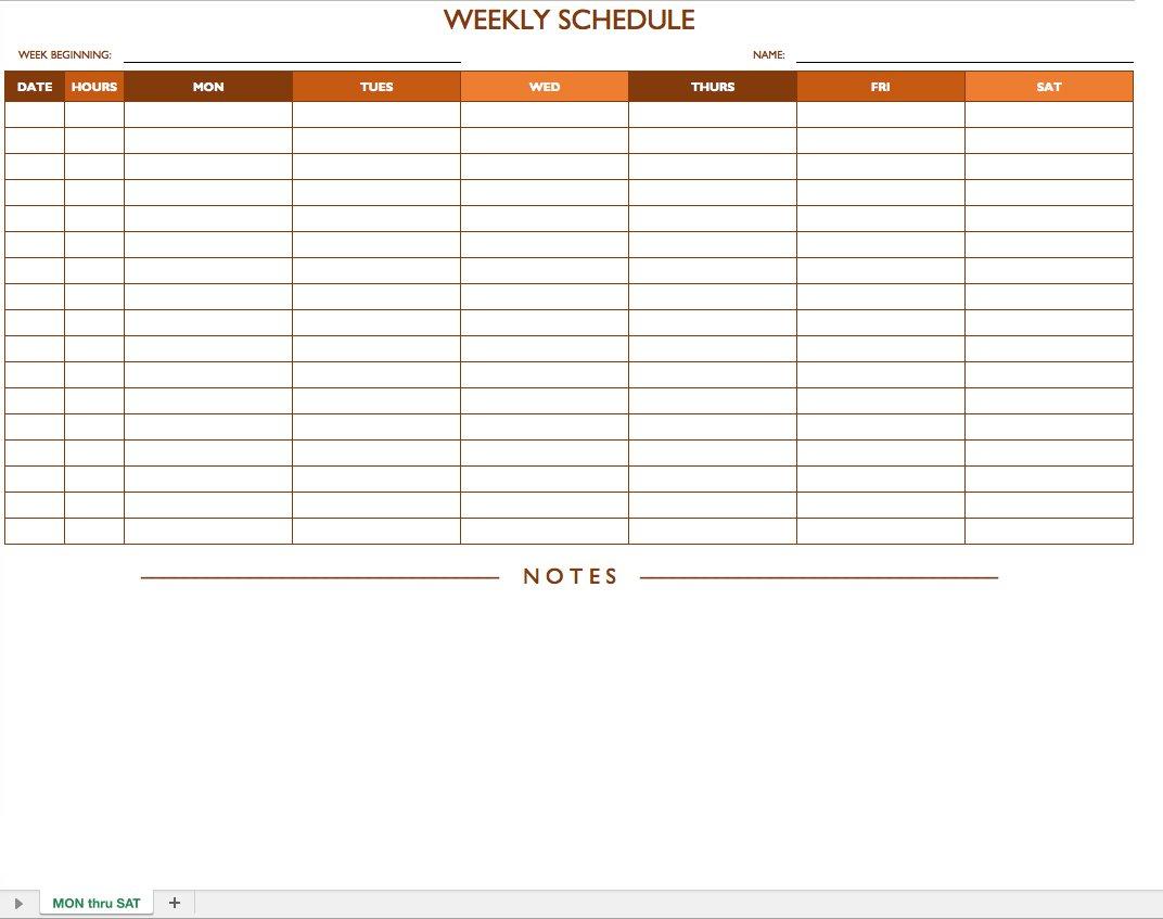 Printable Excel Work Schedule Calendar Template Throughout Excel Work Schedule Calendar Template Sample