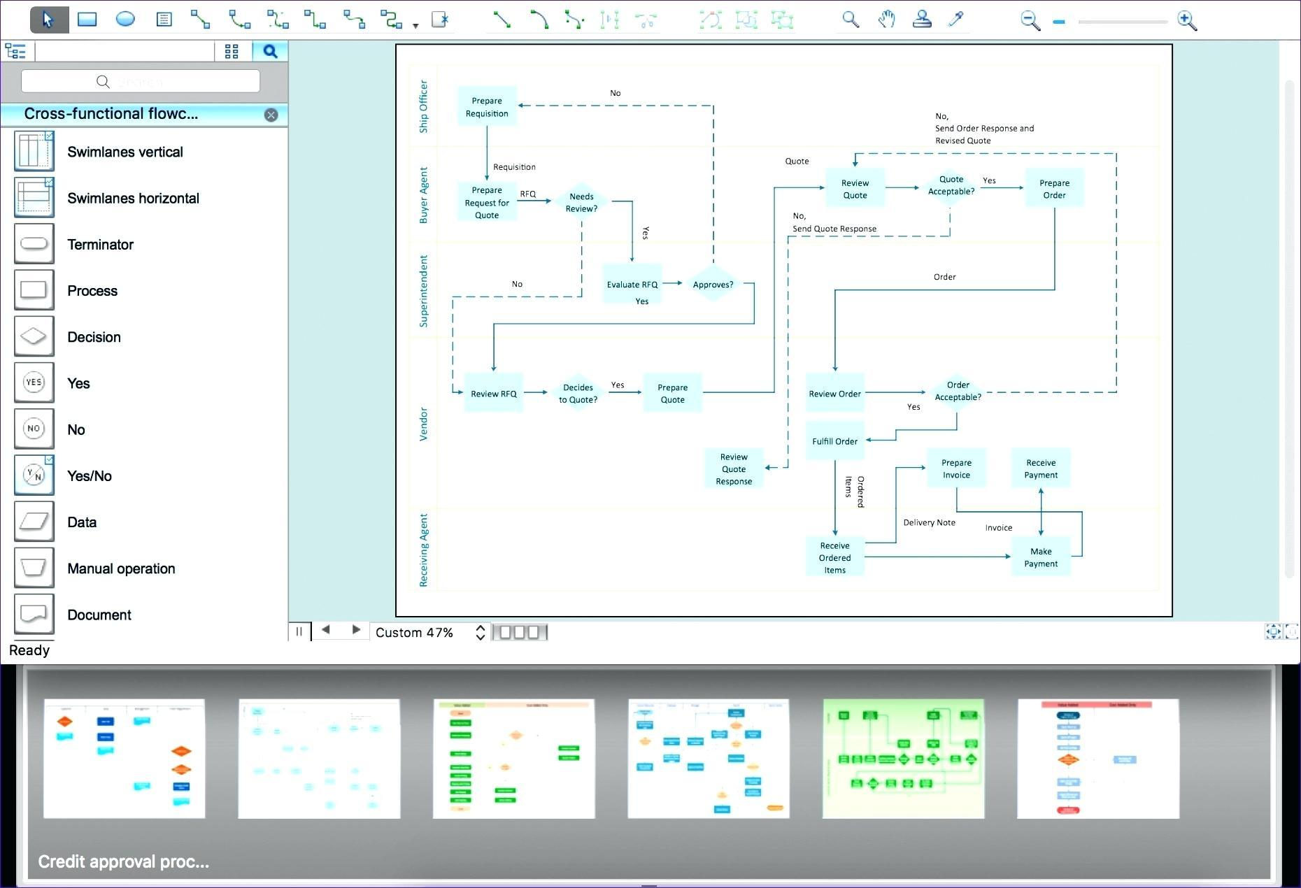 Printable Process Map Template Excel For Process Map Template Excel Download