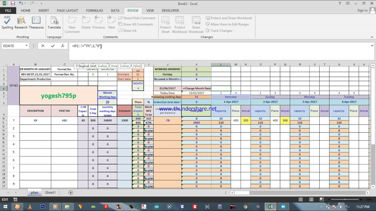 Printable Production Schedule Template Excel Within Production Schedule Template Excel Samples