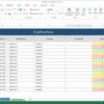 Printable Simple Excel Spreadsheet Template And Simple Excel Spreadsheet Template Free Download