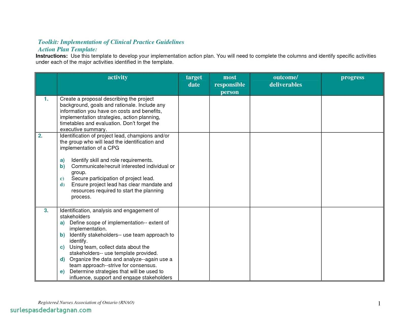 Sample Of Action Plan Template Excel Inside Action Plan Template Excel Sample