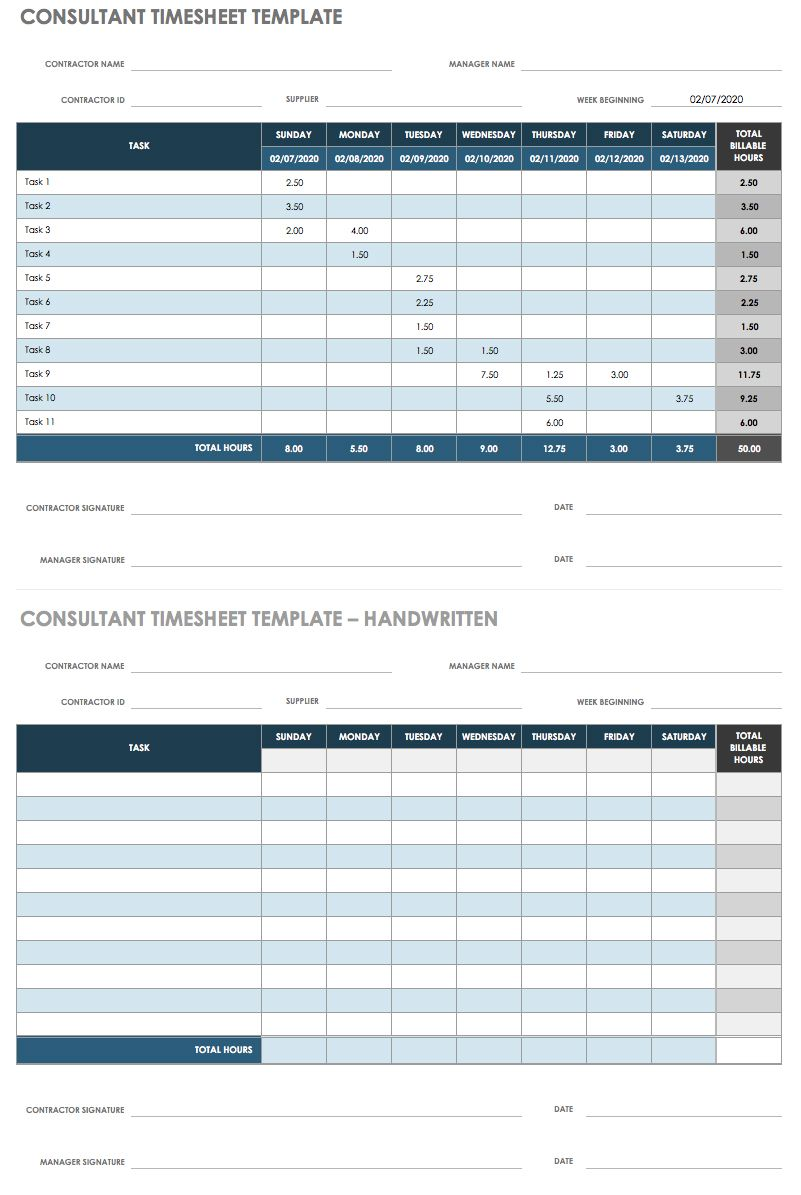 Sample Of Daily Timesheet Format In Excel To Daily Timesheet Format In Excel Example