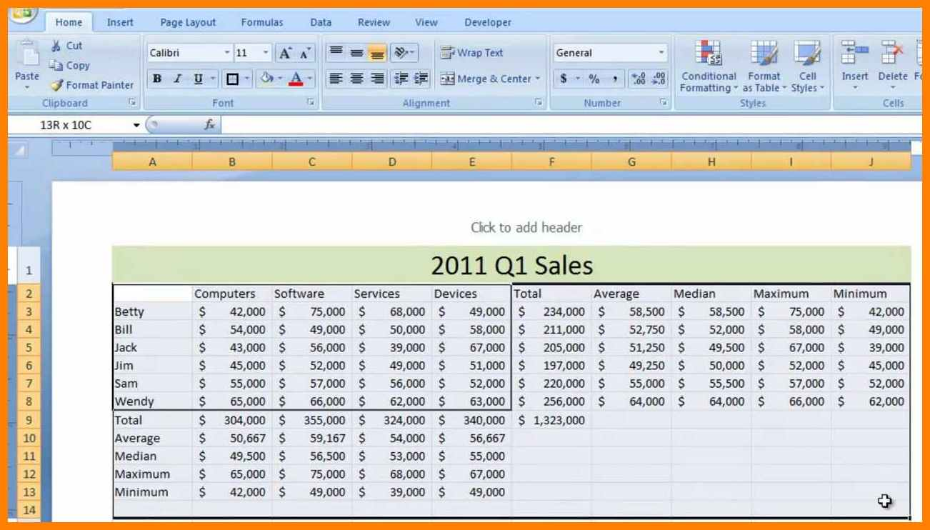 Sample Of Excel Spreadsheet Examples To Excel Spreadsheet Examples Template