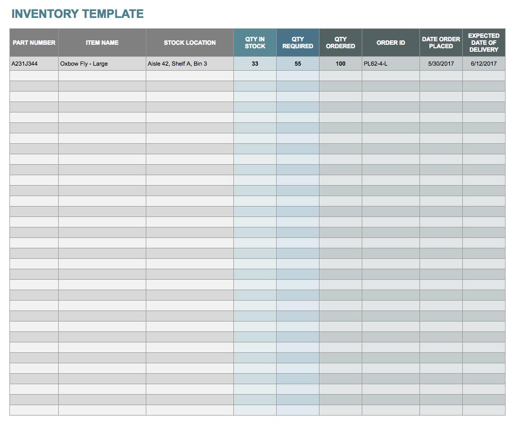 Sample of Financial Inventory Worksheet Excel inside Financial Inventory Worksheet Excel in Spreadsheet
