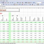 Sample Of Simple Excel Spreadsheet Template Throughout Simple Excel Spreadsheet Template For Personal Use