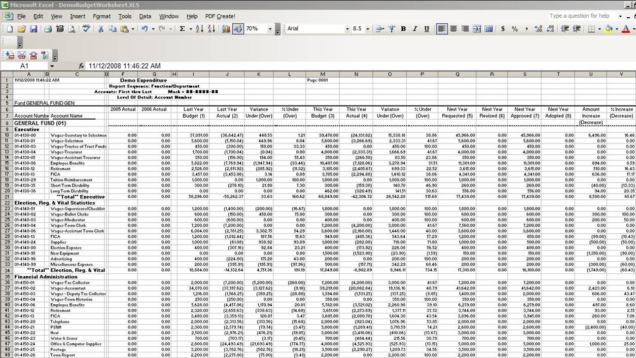 Samples Of Excel Templates For Non Profit Accounting And Excel Templates For Non Profit Accounting For Google Spreadsheet