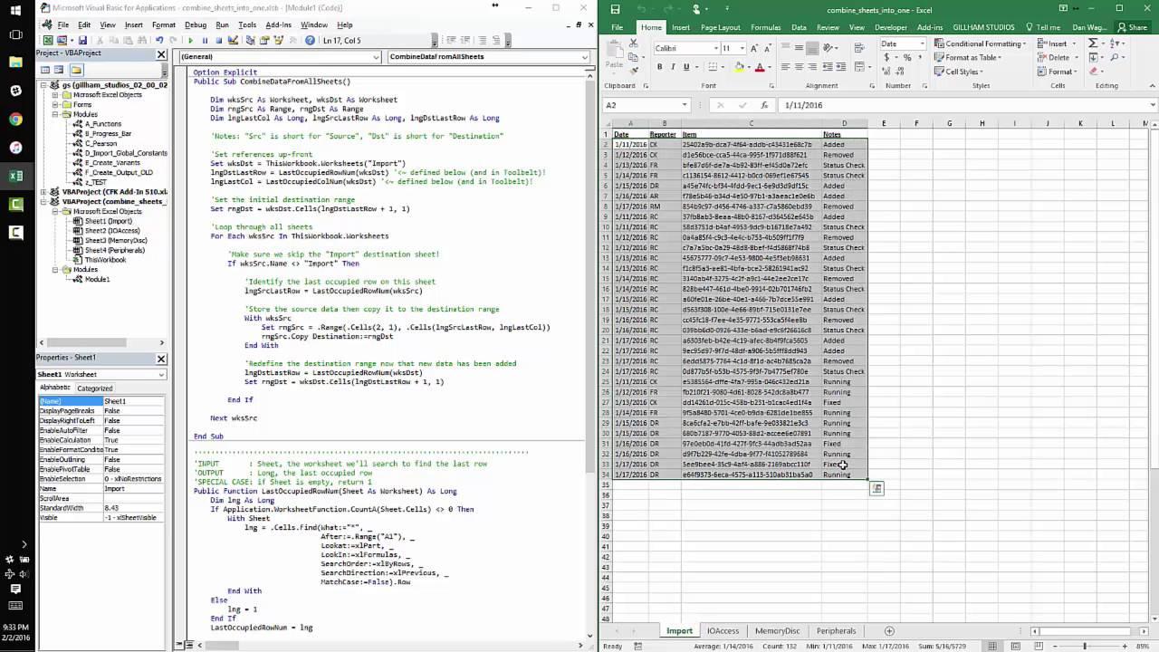 Samples of Merge Excel Worksheets Into One Master Worksheet in Merge Excel Worksheets Into One Master Worksheet xls
