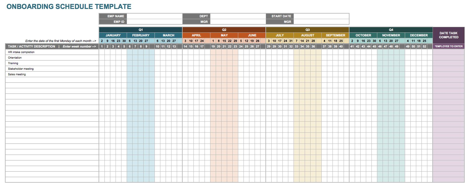 Samples Of Onboarding Checklist Template Excel Throughout Onboarding Checklist Template Excel Samples
