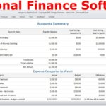 Samples Of Personal Financial Plan Template Excel With Personal Financial Plan Template Excel In Spreadsheet