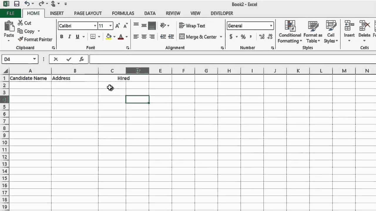 Samples Of Recruitment Tracker Excel Template In Recruitment Tracker Excel Template Xlsx