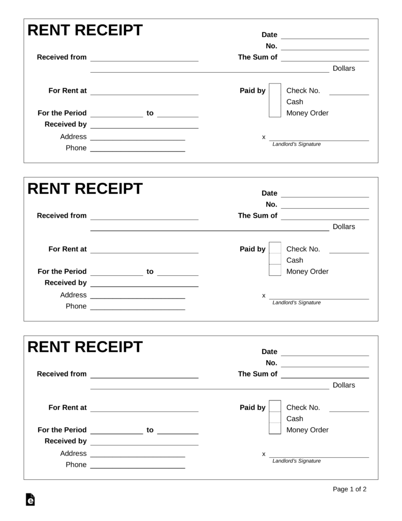 Samples Of Rent Receipt Template Excel To Rent Receipt Template Excel Xls