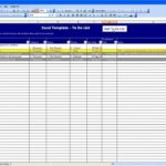 Samples of Task List Template Excel Spreadsheet intended for Task List Template Excel Spreadsheet Example