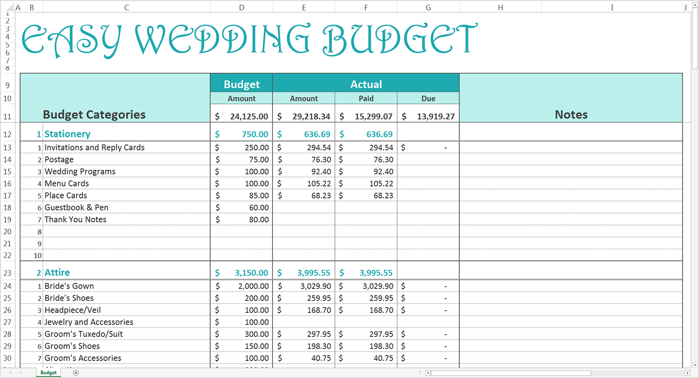 Samples Of Wedding Excel Spreadsheet To Wedding Excel Spreadsheet For Google Spreadsheet