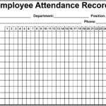 Simple Attendance Sheet Template Excel to Attendance Sheet Template Excel in Spreadsheet