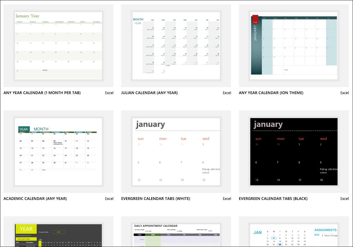 Simple Business Calendar Template Excel In Business Calendar Template Excel Printable