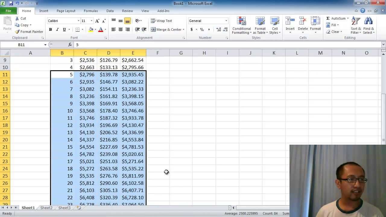 Simple Daily Compound Interest Calculator Excel Template Within Daily Compound Interest Calculator Excel Template Sample
