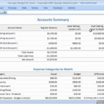 Simple Excel Checkbook Register Budget Worksheet In Excel Checkbook Register Budget Worksheet Form