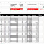 Simple Financial Inventory Worksheet Excel throughout Financial Inventory Worksheet Excel Template