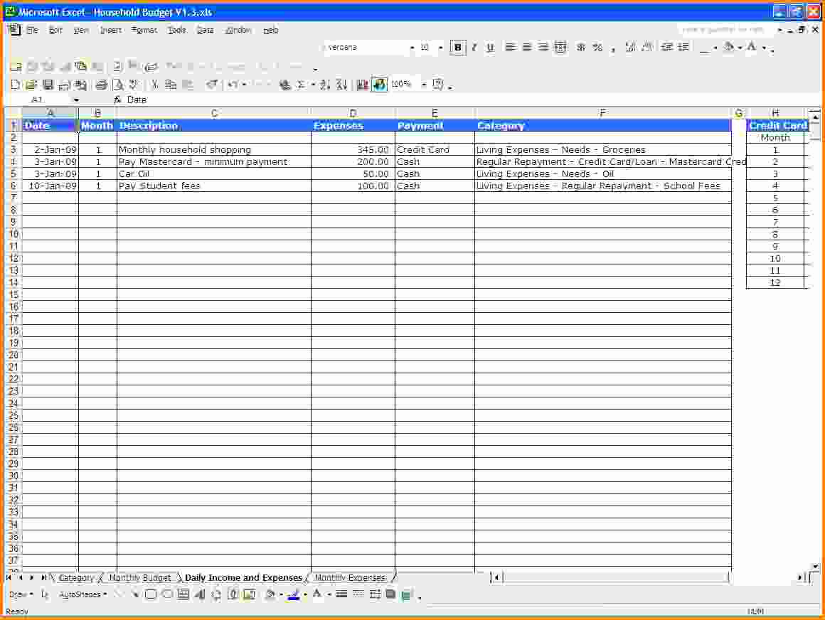 Simple Simple Excel Spreadsheet Template intended for Simple Excel Spreadsheet Template Sample
