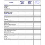 Simple Simple Personal Budget Template Excel inside Simple Personal Budget Template Excel Example